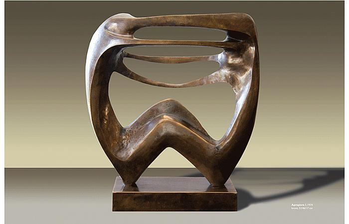 APROPIERE I, 1974, 51x46x17cm