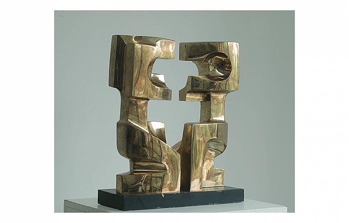 MEDITATION II, 1970, bronze, 48×100×26cm