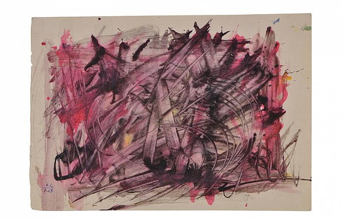 Roman Cotosman, Untitled, 20,9x 30cm, ink on paper, RC 8, 1963