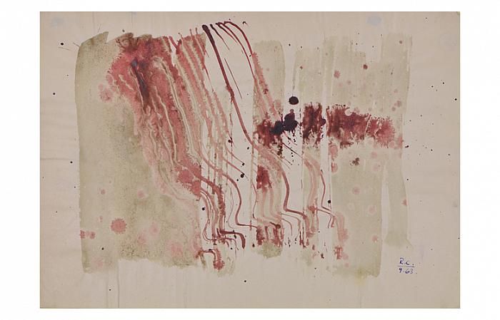 Roman Cotosman, Untitled, 20,9 x 29,7cm, ink on paper, RC 9, 1963