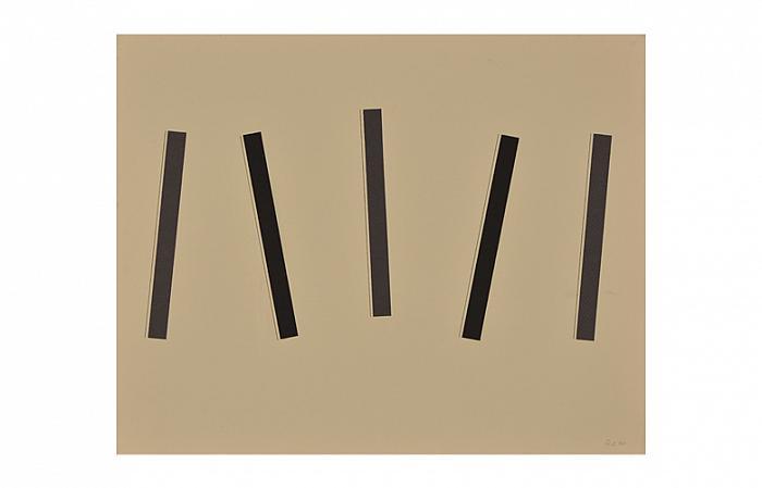 Roman Cotosman, Collage C11, 48,5 x 60cm, strathmore paper, 1974
