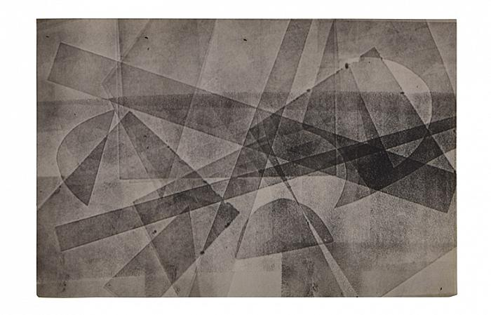 COTOSMAN, Untitled (Action series), 1963-64, 30 x 42cm, monotype on paper
