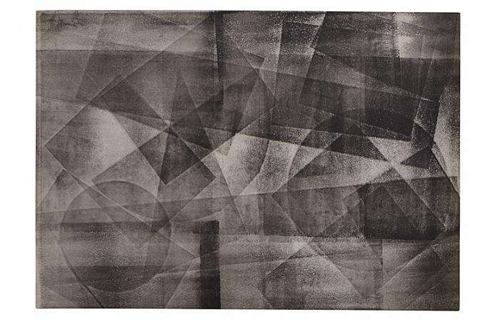 Roman COTOSMAN, Untitled (Action series), 1963-64, 30 x 42cm, monotype on paper