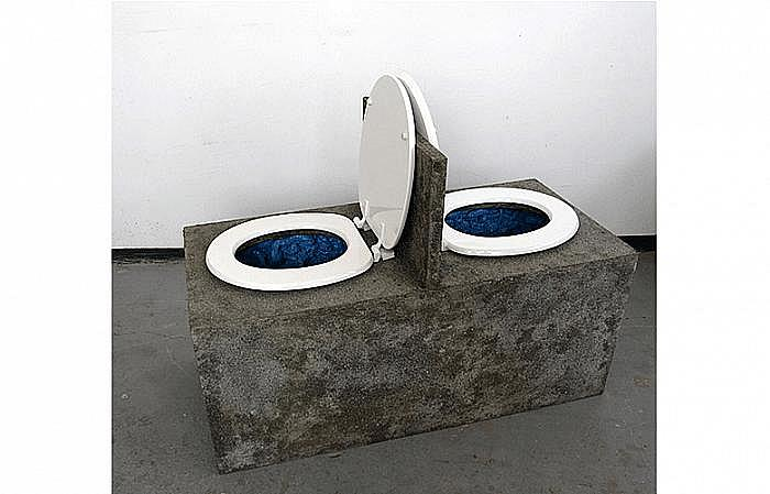 Pilot and bombardier 45x110x75cm osb cement toilet seats polyurethane foam toilet 2012