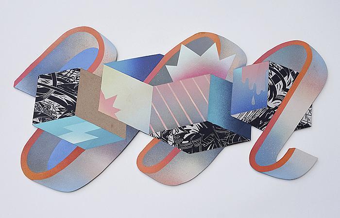 Untitled, 2018 acrylic