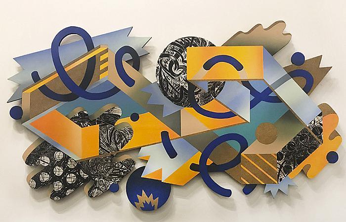 Untitled (Broken Infinity), 2018 acrylic