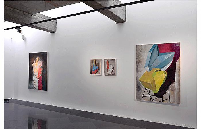 Genti Korini - The Object and Its Background, exhibition view