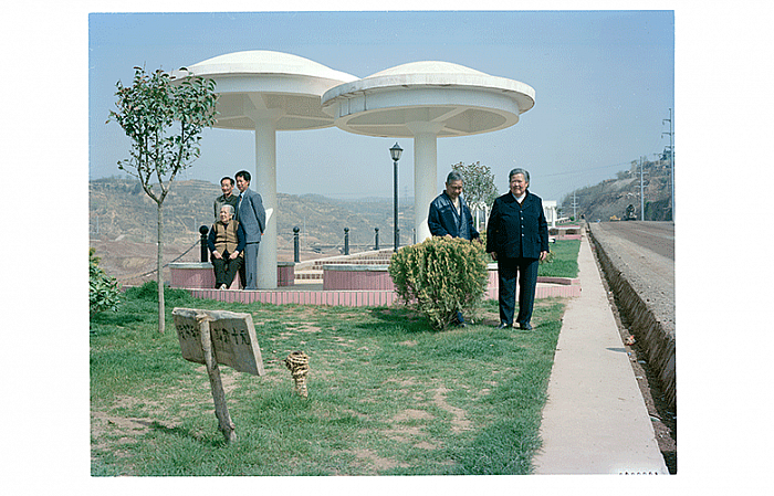Xiaolangdi, April 2000 小浪底现场, 2000 年 04 月, 85 x 107 cm