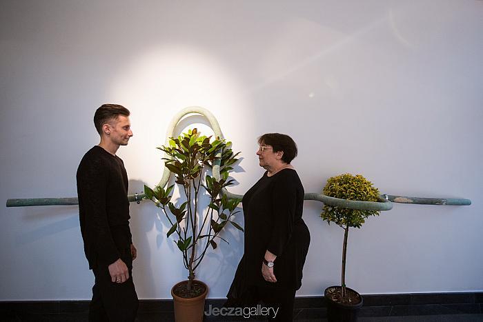 Opening night / Alex Mirutziu and Liviana Dan / Installation by Alex Mirutziu