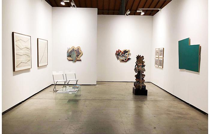Jecza Gallery stand / Wiener Kunstmesse